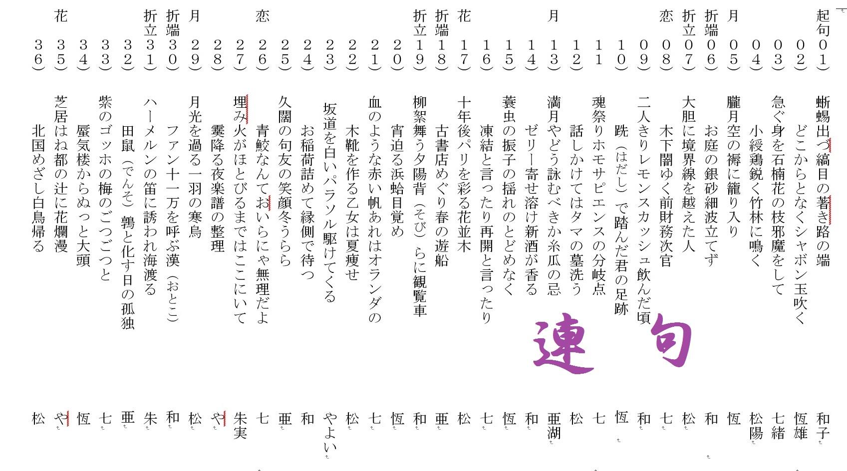 歌仙サンプル (2)